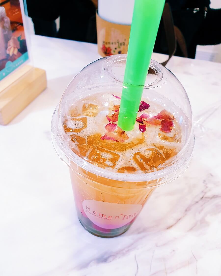 Bubble Tea du printemps.