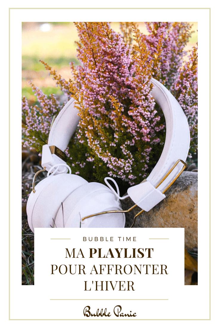 Pinterest playlist pour l'hiver.