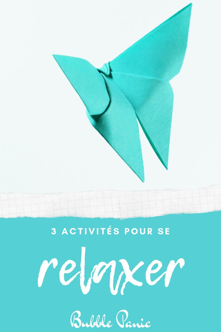 Image Pinterest activités pour se détendre