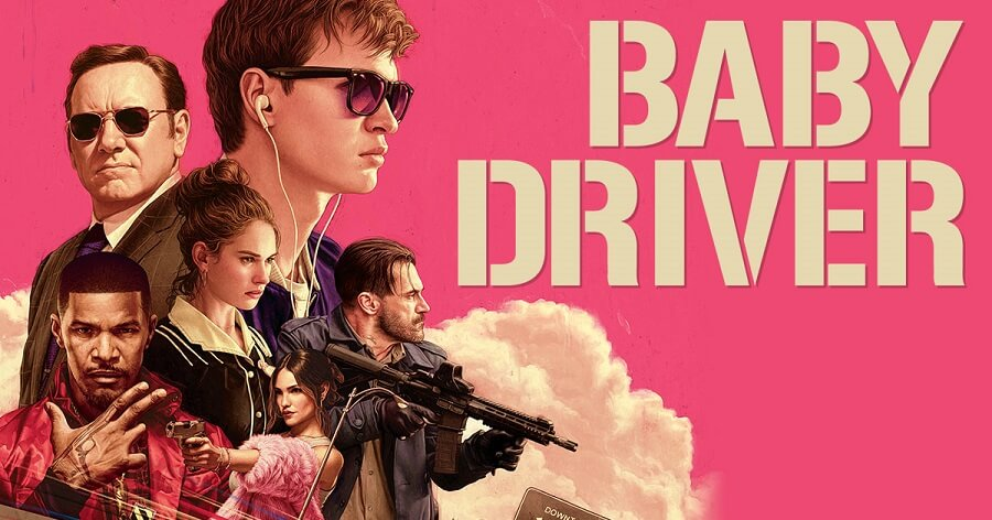 Affiche Baby Driver.