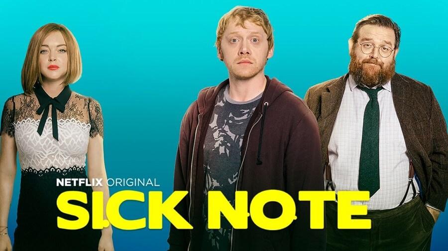 Bannière de la série Sick Note.