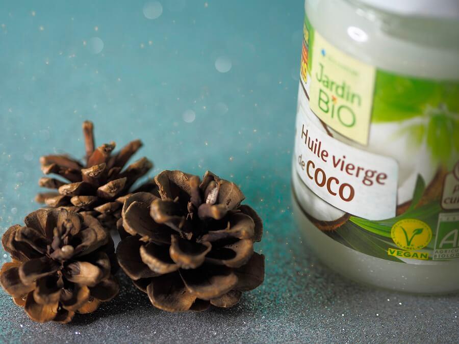 Utiliser l'huile de coco pendant l'hiver.
