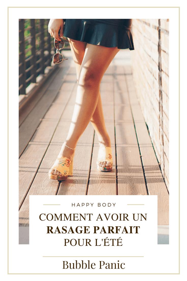 Image Pinterest Comment avoir un rasage parfait.